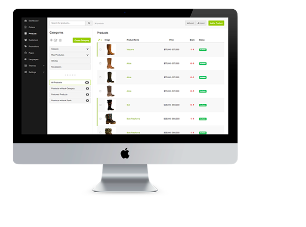 tienda online de zapatos tienda online de zapatos versión tablet ... d206b464aa29